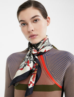 Re-Find silk scarf Weekend Maxmara
