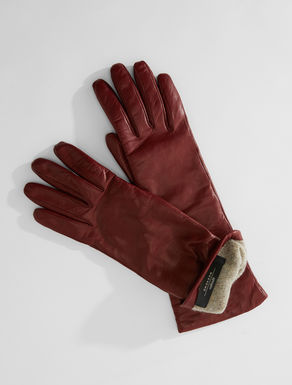 Nappa leather gloves Weekend Maxmara