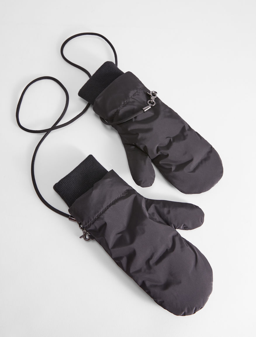 Printed satin mittens Weekend Maxmara