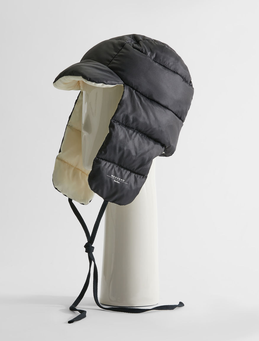 Technical satin hat Weekend Maxmara