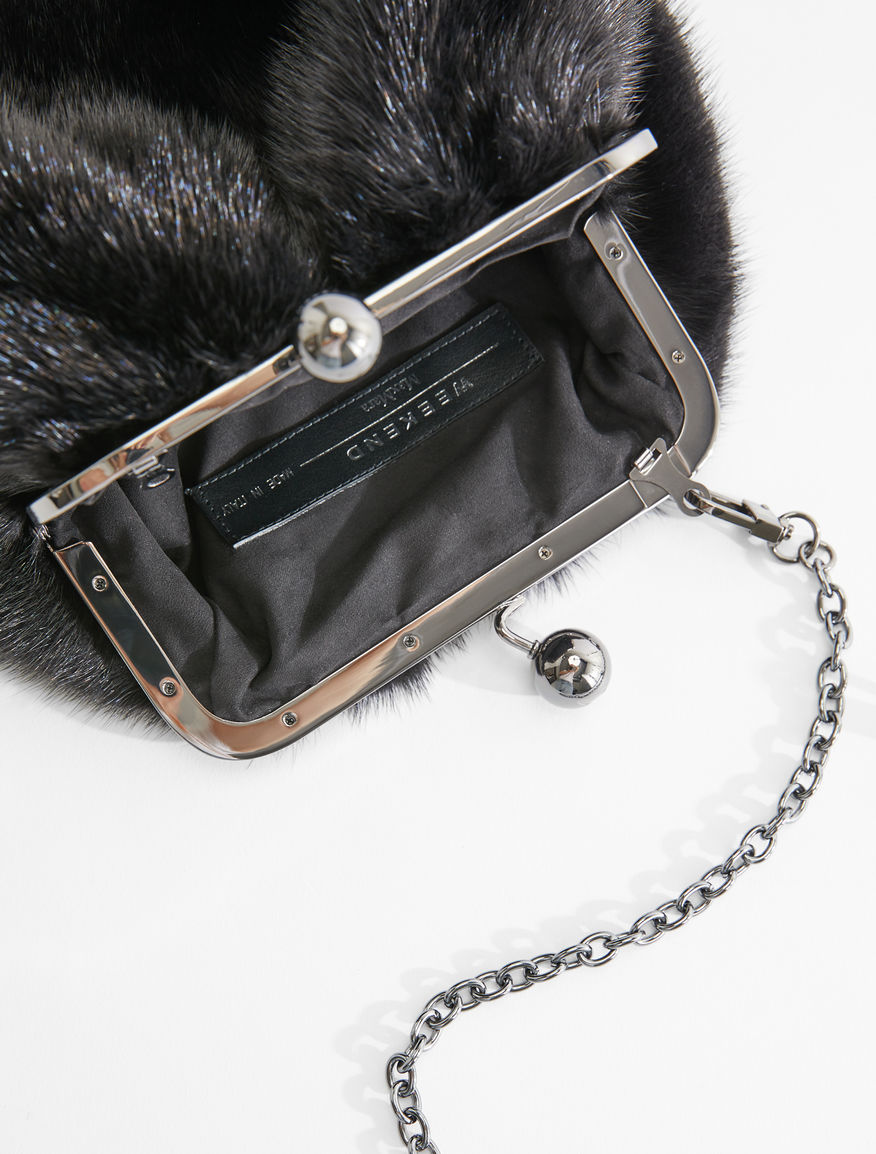 Small mink Pasticcino Bag Weekend Maxmara