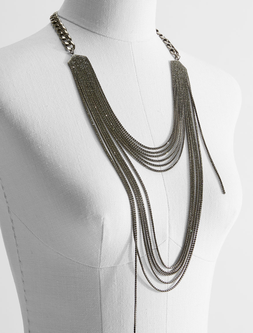 Rhinestone necklace Weekend Maxmara