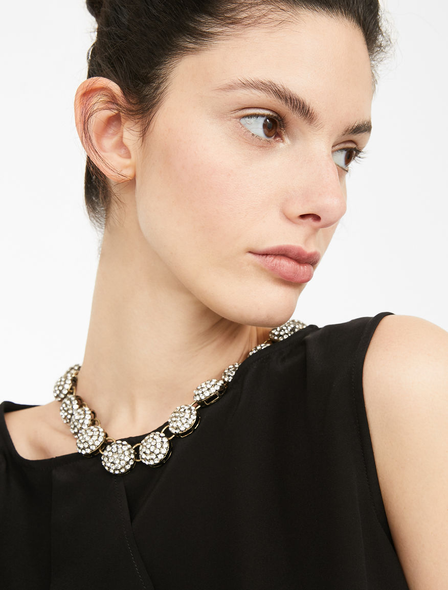 Chain necklace with sphere details Weekend Maxmara