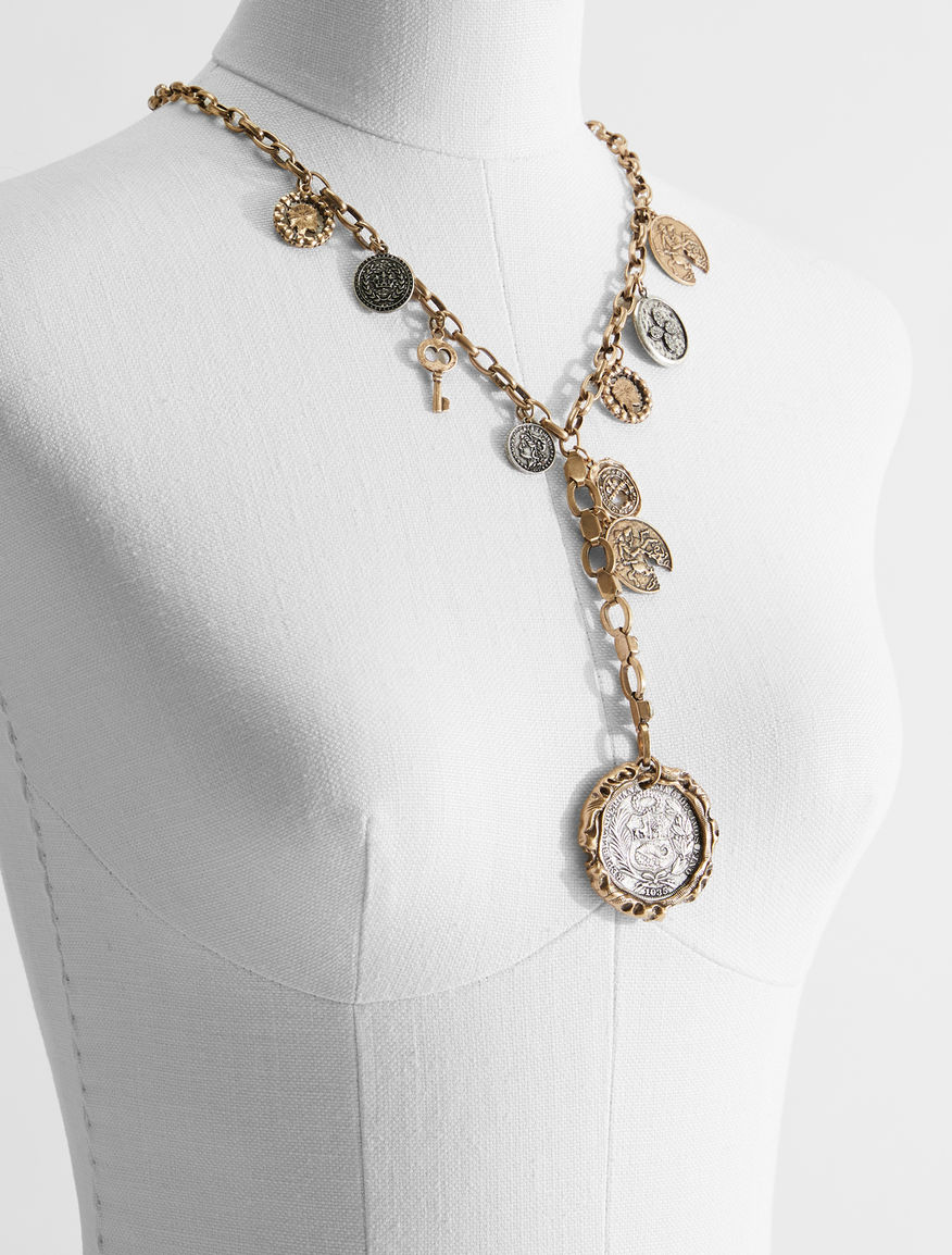 Vintage coin necklace Weekend Maxmara