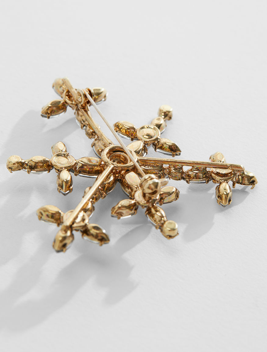 Rhinestone brooch Weekend Maxmara
