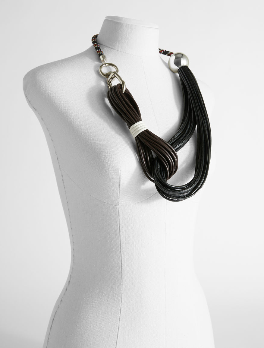 Technical tape Re-Find necklace Weekend Maxmara