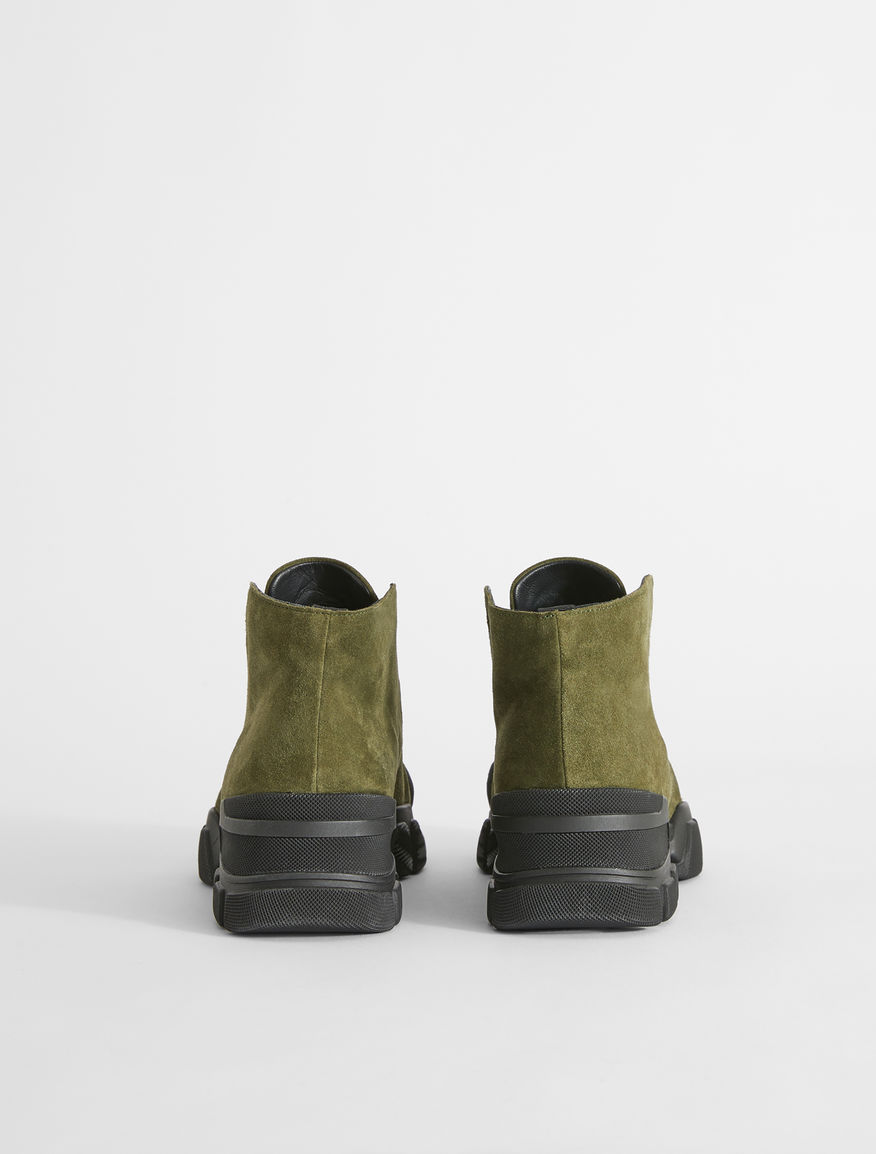 Split leather ankle boots Weekend Maxmara