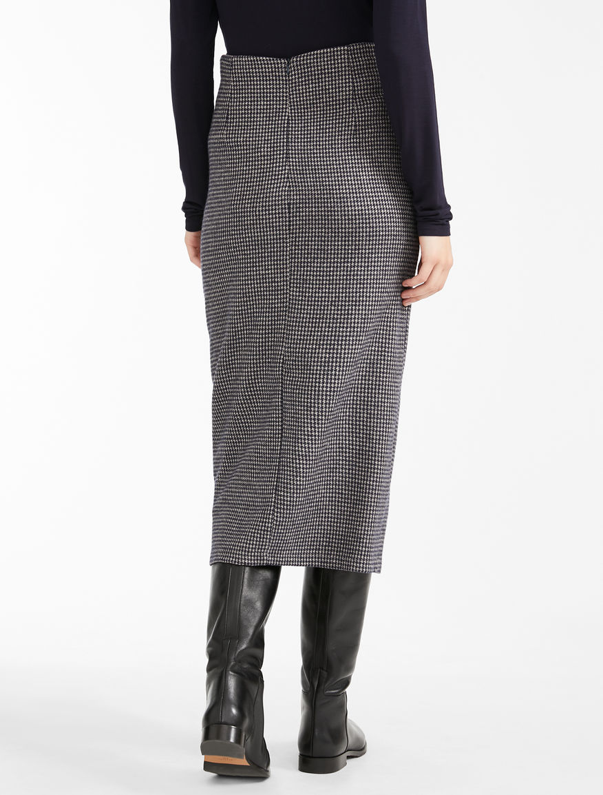 Flannel jersey skirt Weekend Maxmara