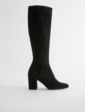 Suede leather boot Weekend Maxmara