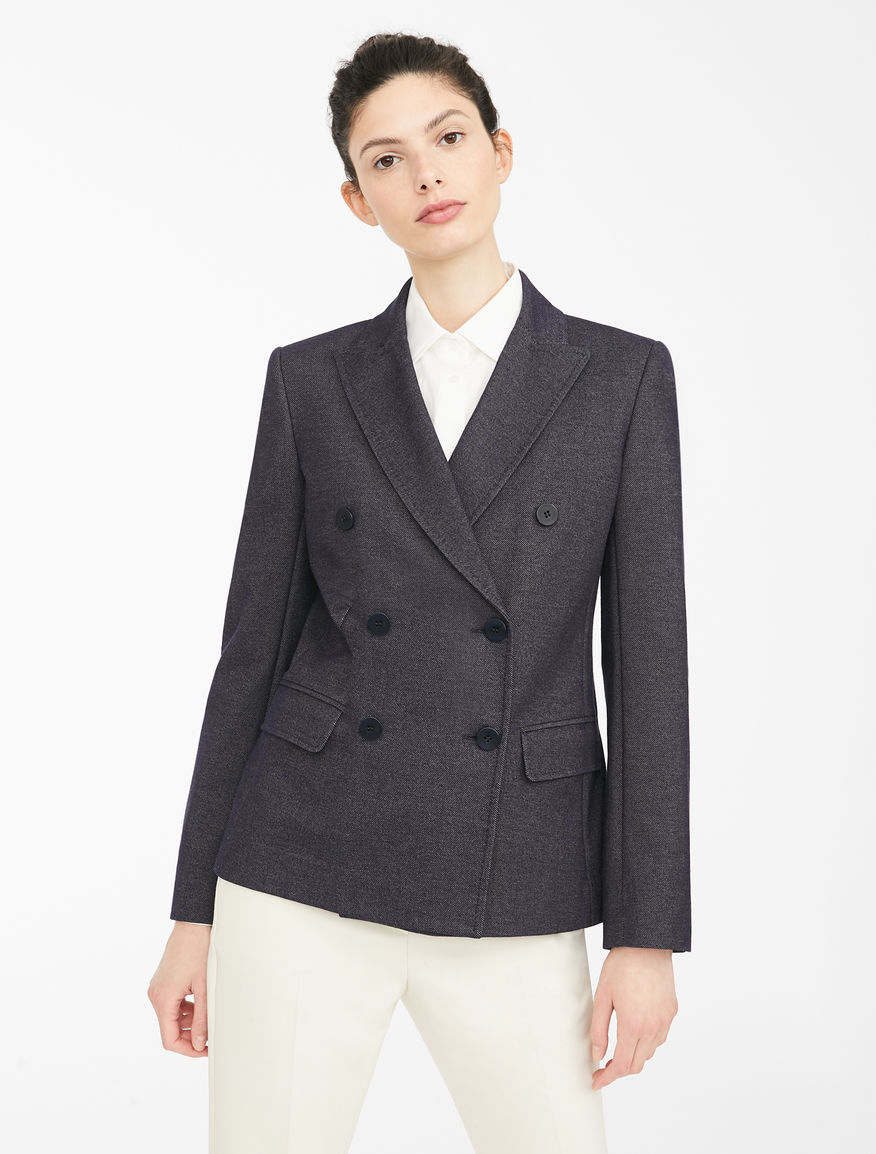Denim jersey blazer Weekend Maxmara