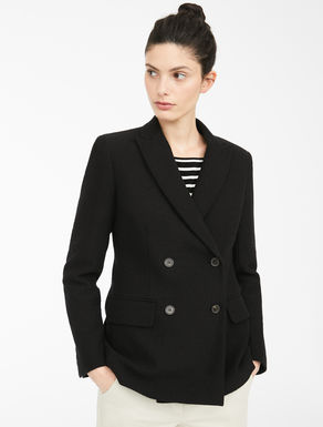 Blazer in jersey rasato Weekend Maxmara