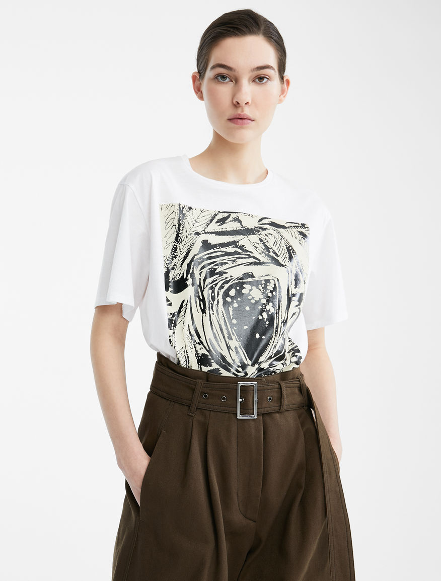 Re-Find cotton jersey T-shirt Weekend Maxmara