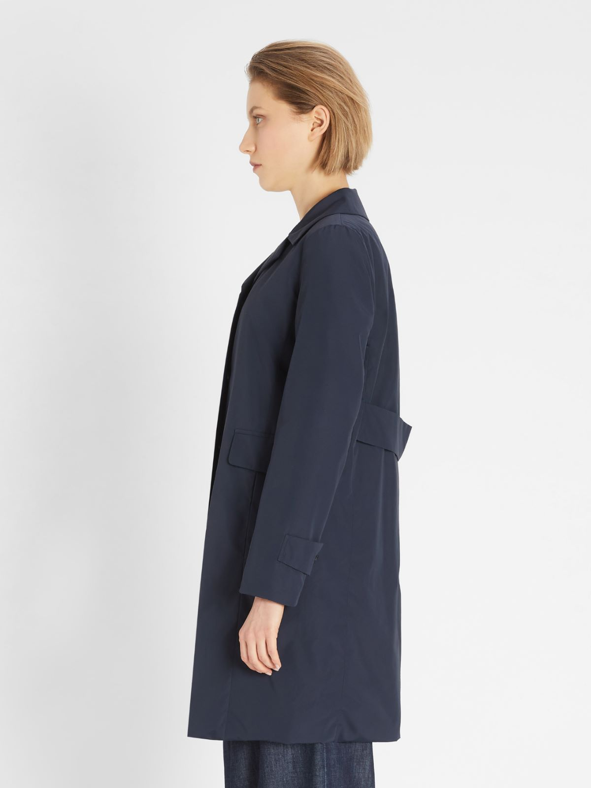 Cotton micro-faille coat Weekend Maxmara
