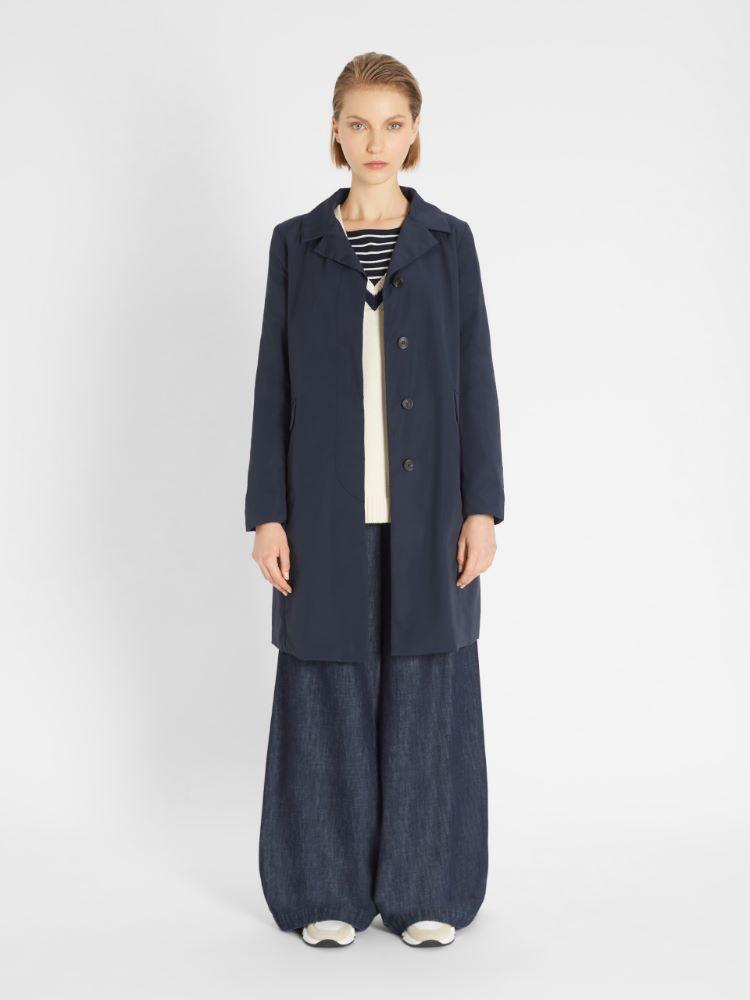 Cotton micro-faille coat Weekend Maxmara