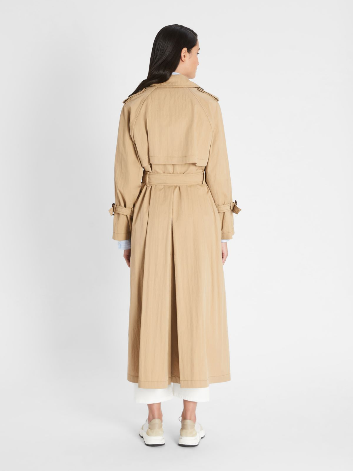 Trench in twill di cotone antigoccia Weekend Maxmara