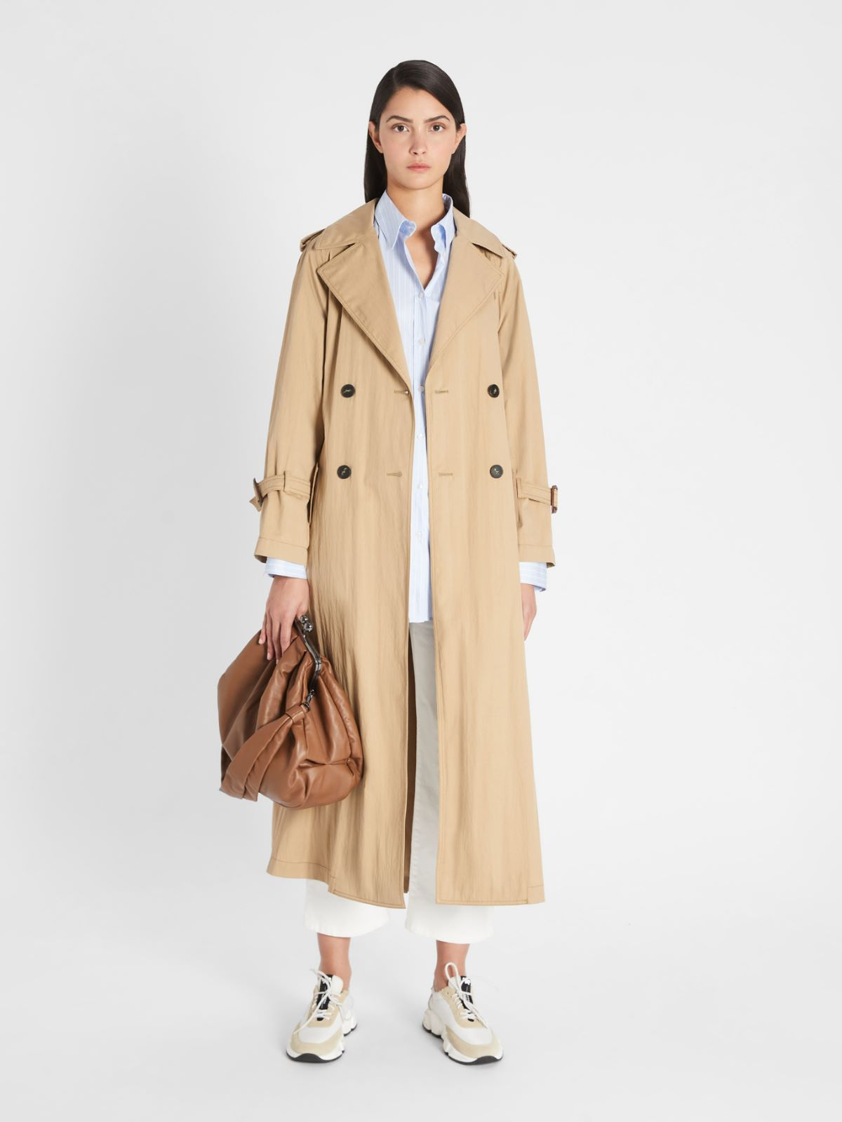 Water-repellent cotton twill trench coat Weekend Maxmara