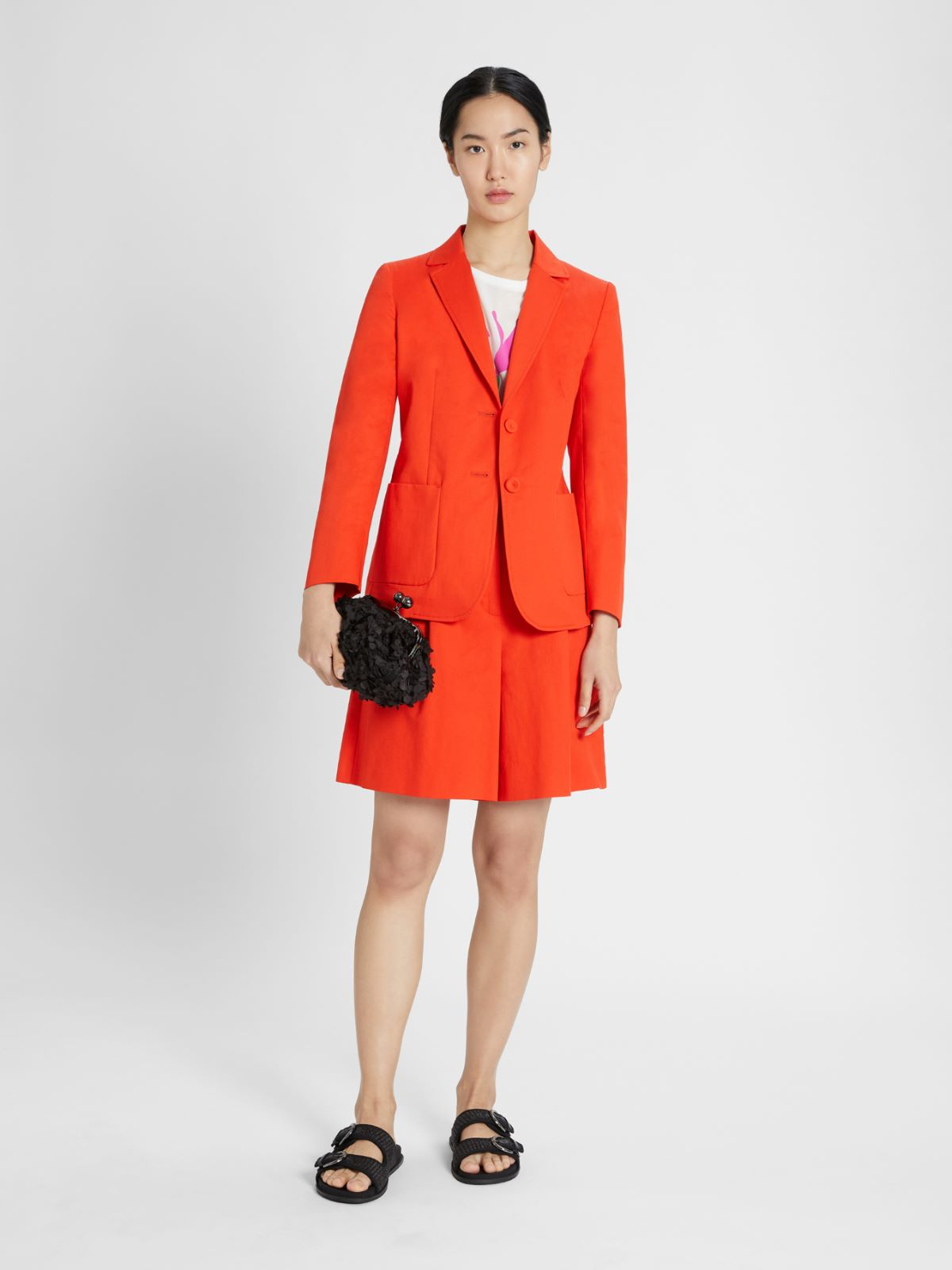 Linen and cotton blazer Weekend Maxmara