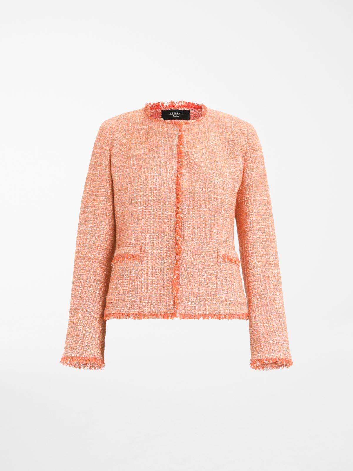 Viscose and cotton basketweave jacket Weekend Maxmara