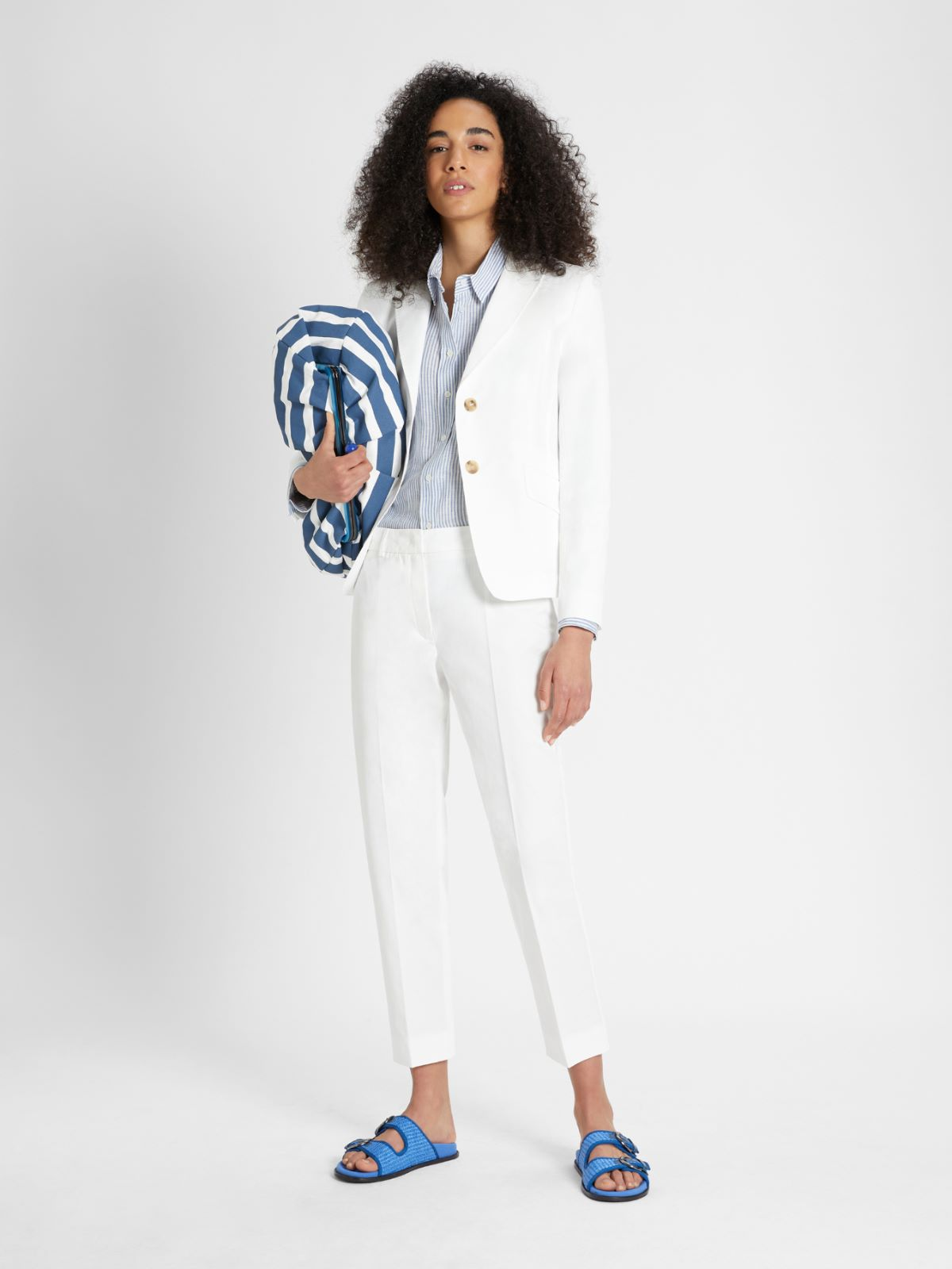 Cotton gabardine blazer Weekend Maxmara