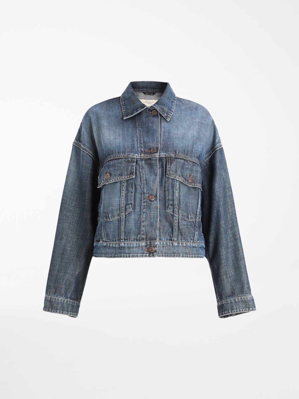 Cotton denim jacket Weekend Maxmara