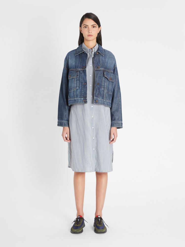 Cotton denim jacket Weekend Maxmara