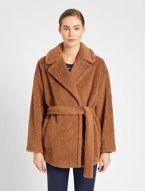 Fur-look wool coat Weekend Maxmara