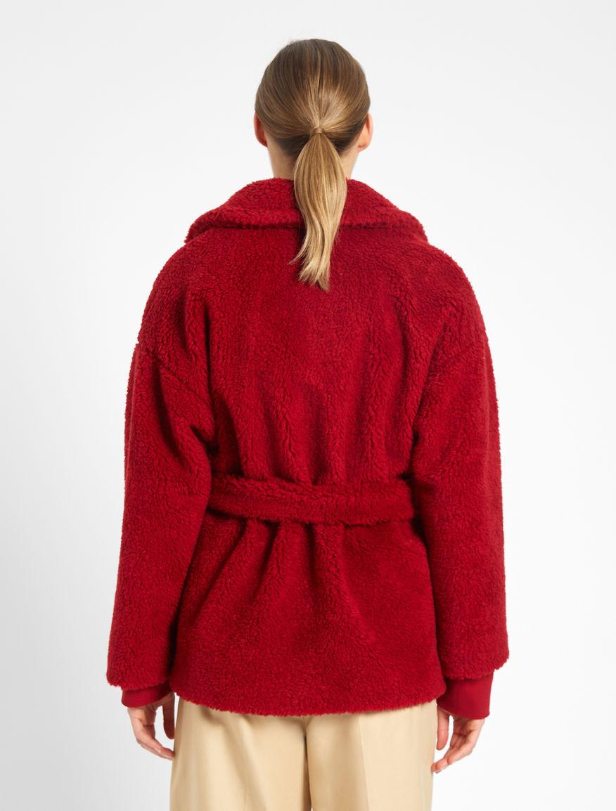 Fur-look wool coat Weekend Maxmara