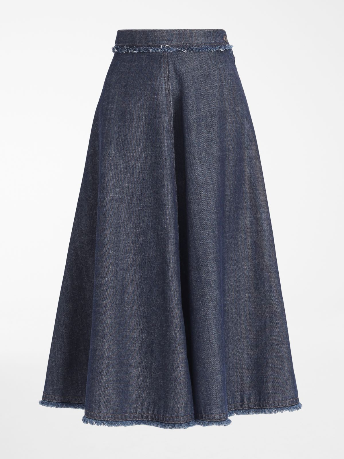 Cotton denim skirt Weekend Maxmara