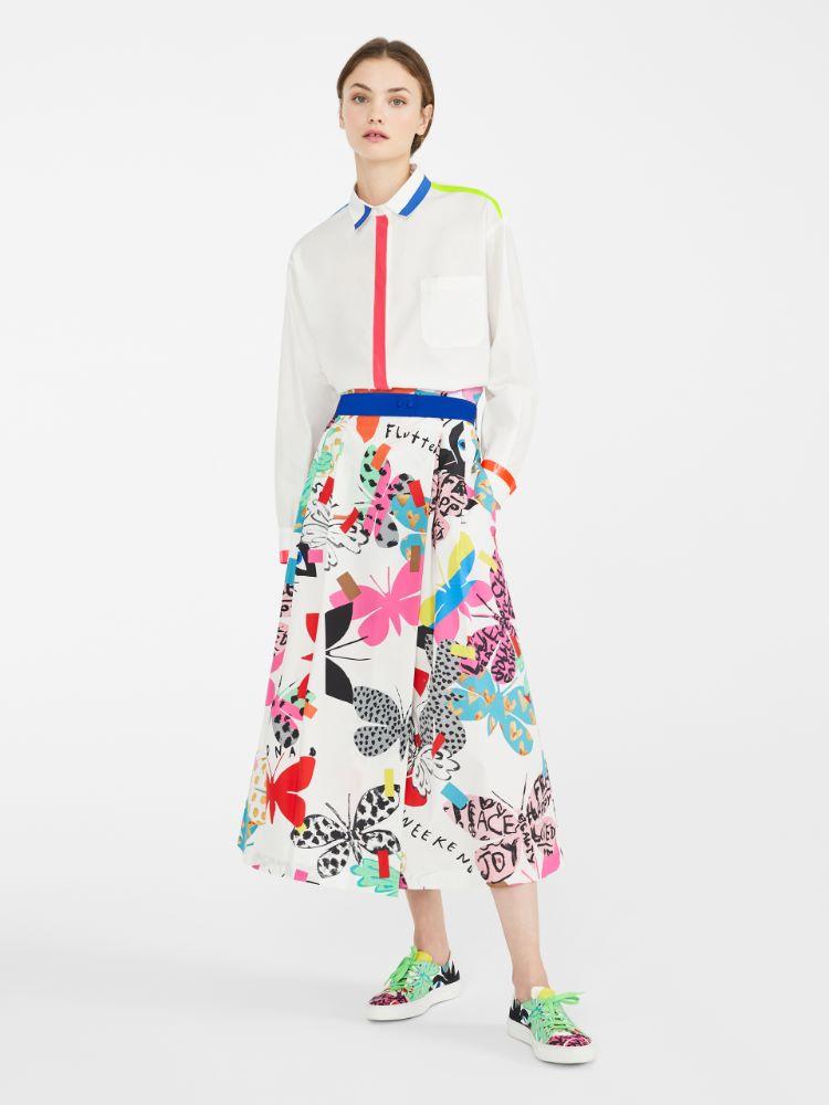Flutterflies  skirt Weekend Maxmara