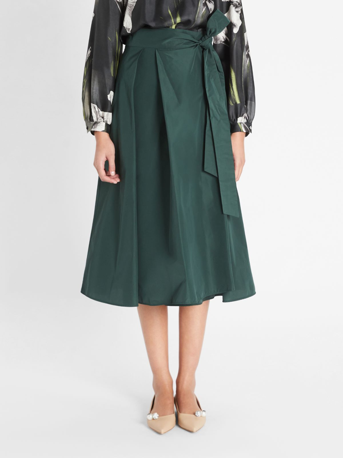 Cotton taffeta skirt Weekend Maxmara