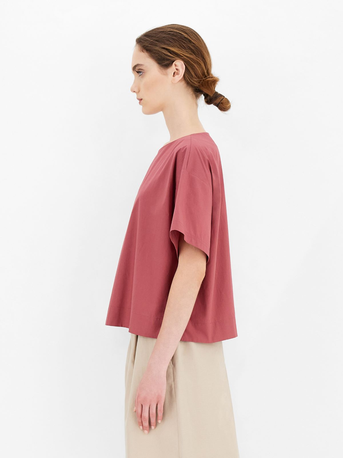 Cotton poplin top Weekend Maxmara