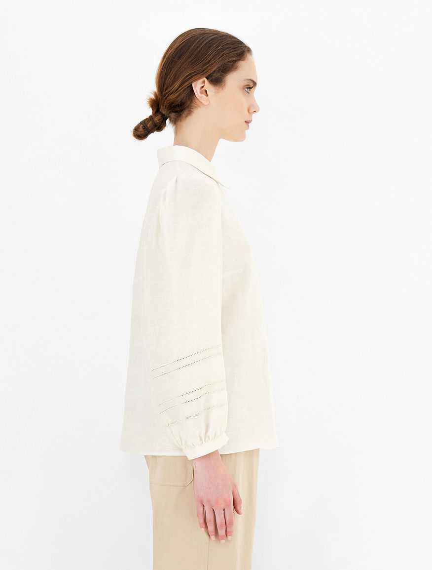 Linen fabric shirt Weekend Maxmara