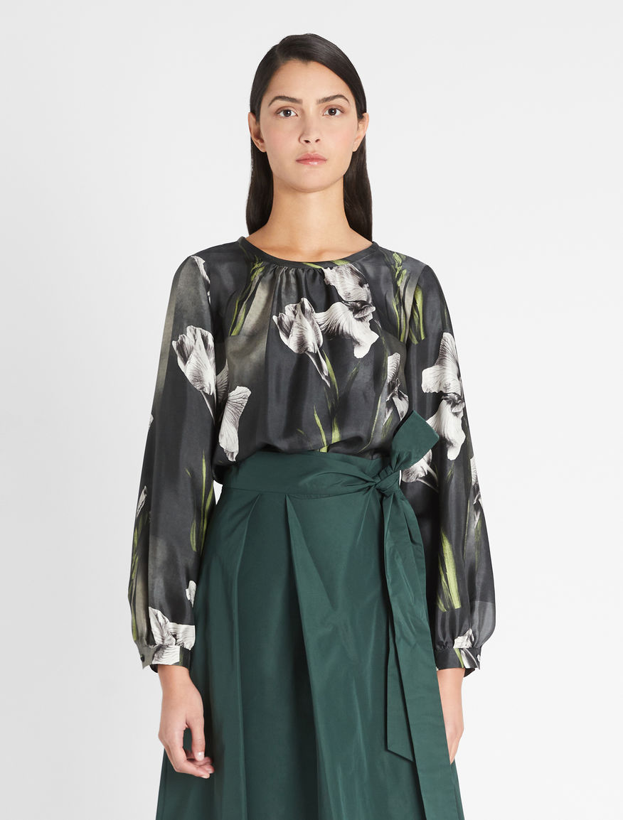Silk twill blouse Weekend Maxmara