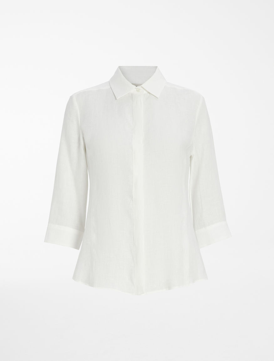 Camicia in tela di lino Weekend Maxmara