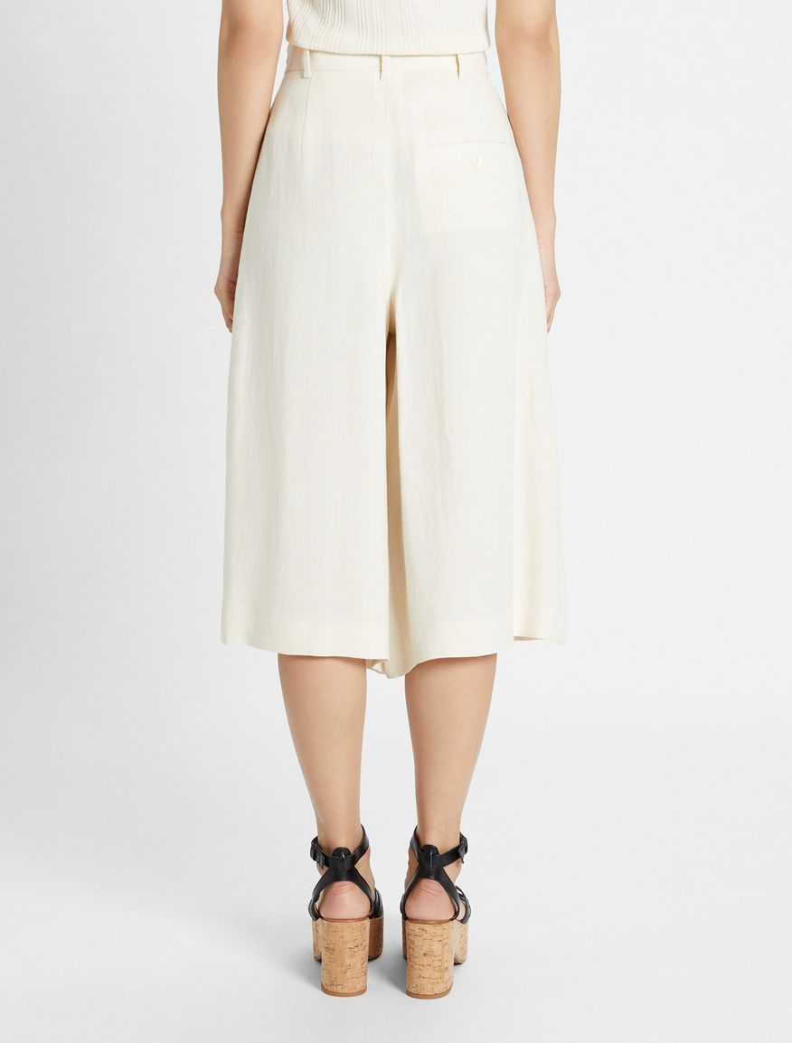 Linen canvas culottes Weekend Maxmara