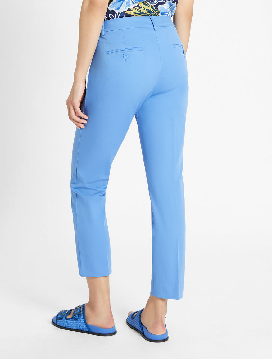 Cotton gabardine trousers Weekend Maxmara