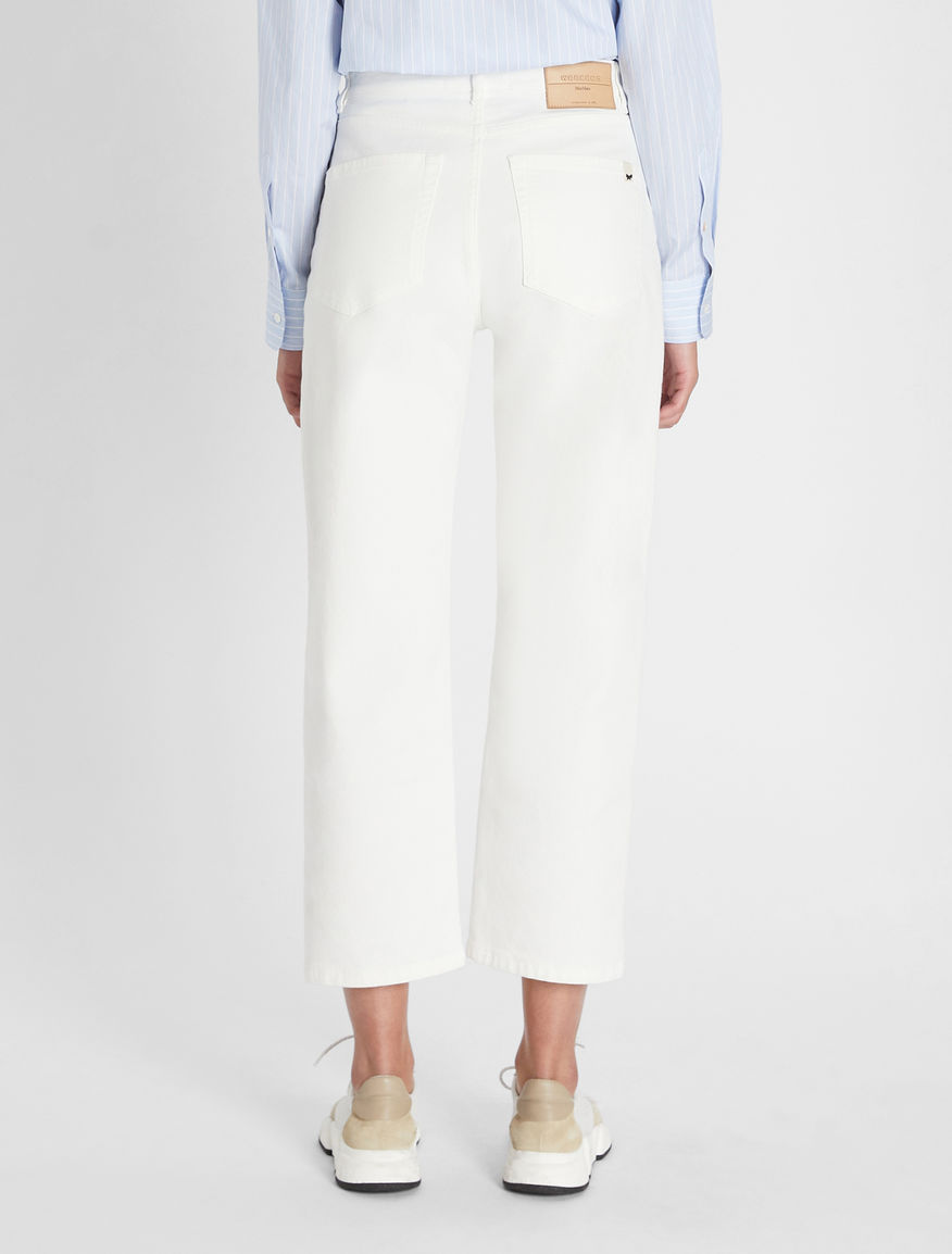 Cotton bull denim trousers Weekend Maxmara