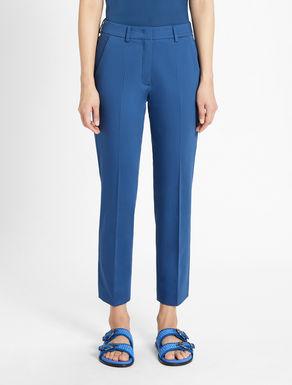 Cotton sateen trousers Weekend Maxmara