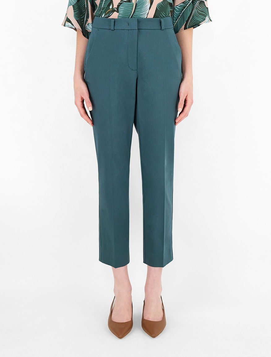 Pantaloni in raso di cotone Weekend Maxmara