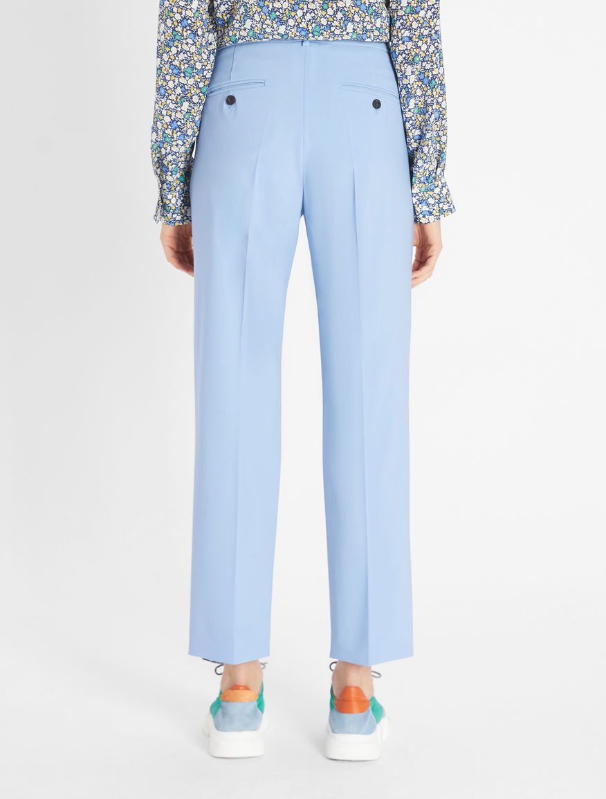 Pantaloni in tela di lana Weekend Maxmara