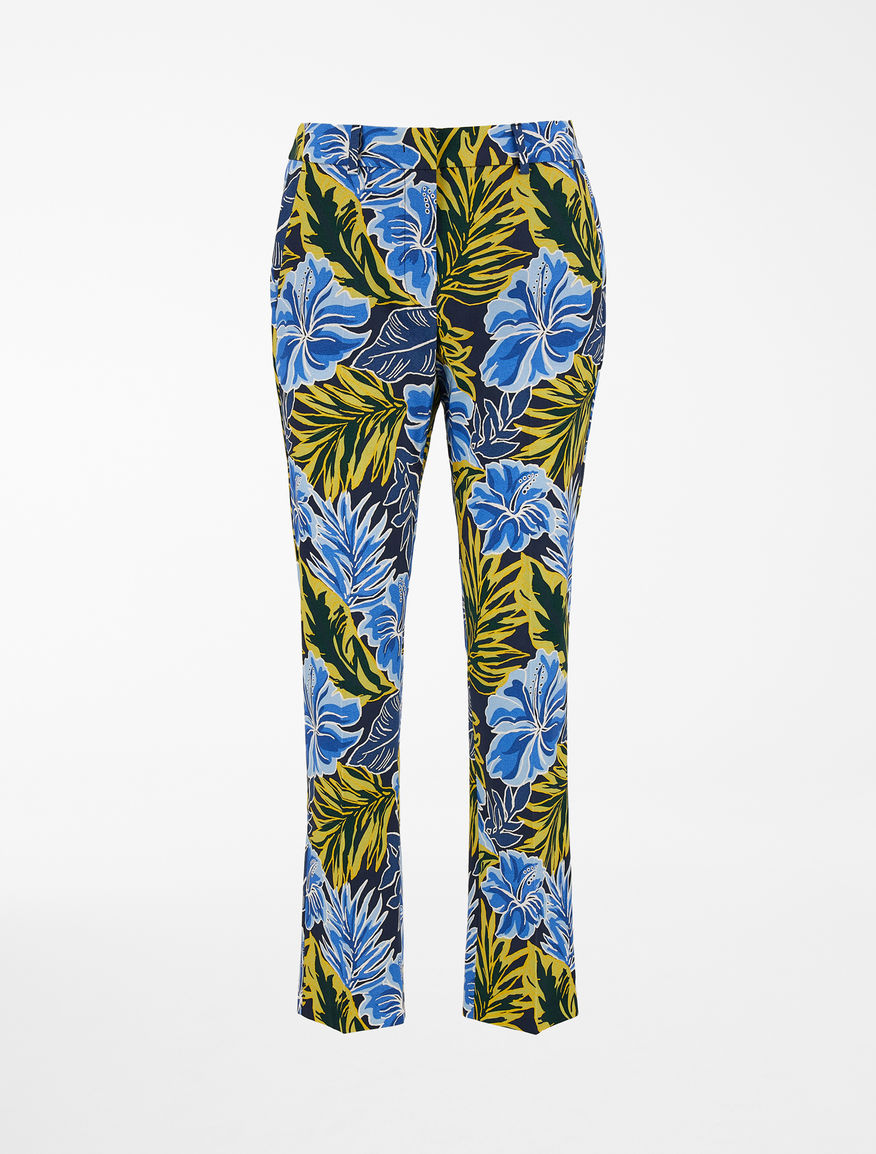 Cotton faille trousers Weekend Maxmara