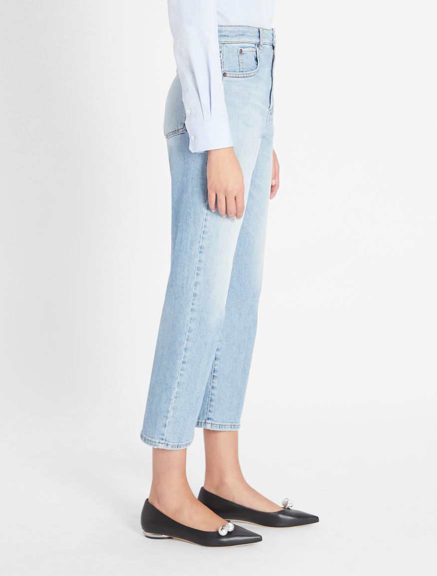 Denim trousers Weekend Maxmara