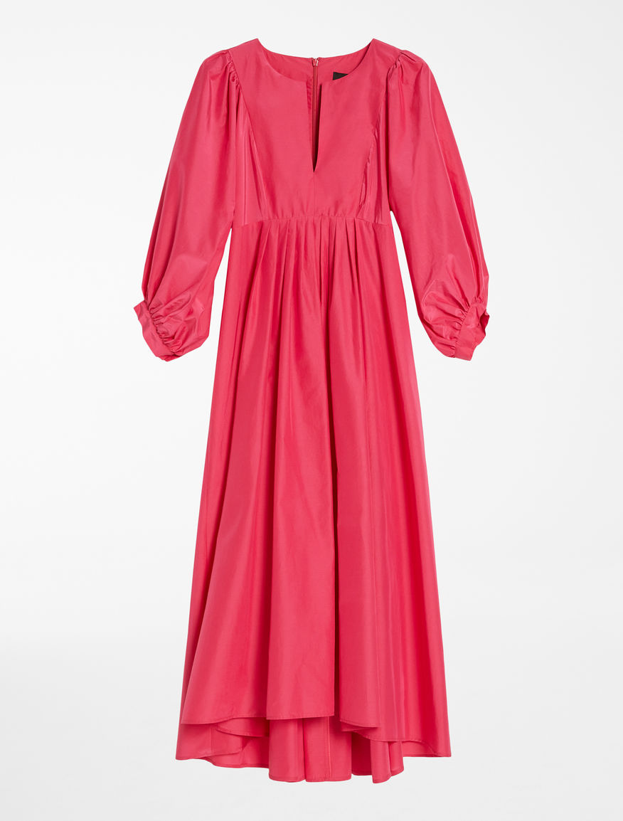 Silk and cotton fabric dress Weekend Maxmara