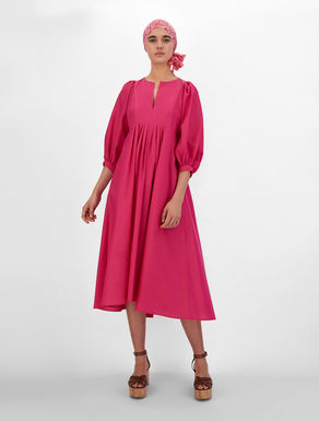 Silk and cotton fabric dress Weekend Maxmara