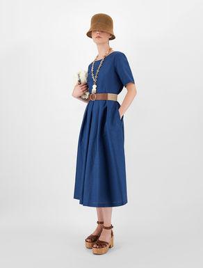 Linen and cotton fabric dress Weekend Maxmara