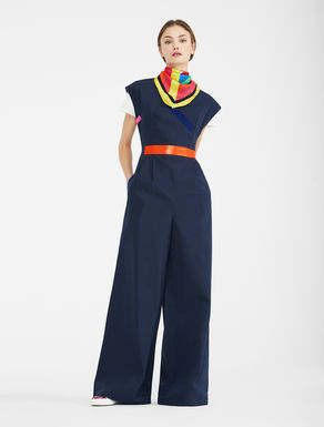 Cotton faille jumpsuit Weekend Maxmara