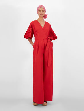 Tuta in micro twill di misto cotone Weekend Maxmara