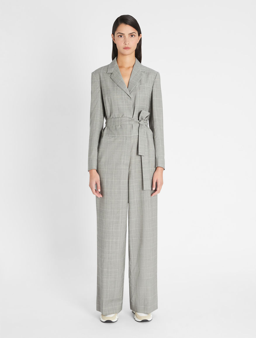 Plain-weave woollen jumpsuit Weekend Maxmara