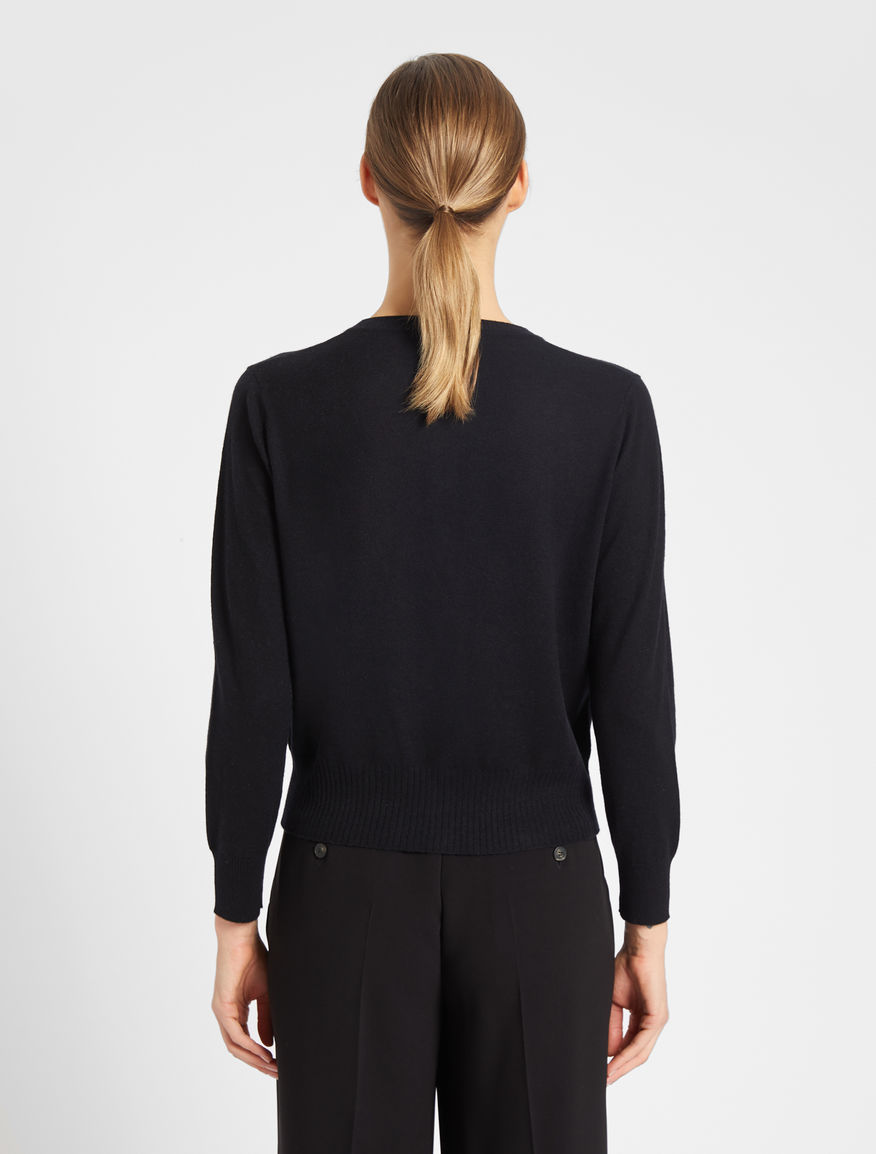 Cashmere and wool yarn cardigan Weekend Maxmara