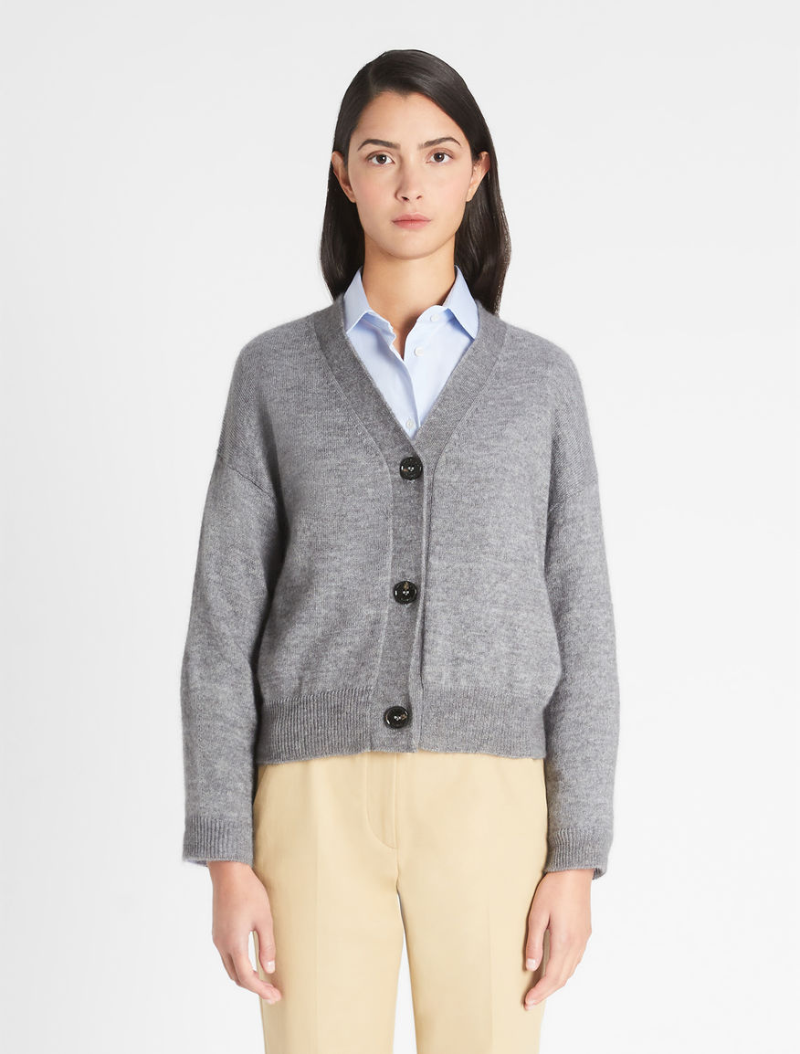Mohair yarn cardigan Weekend Maxmara